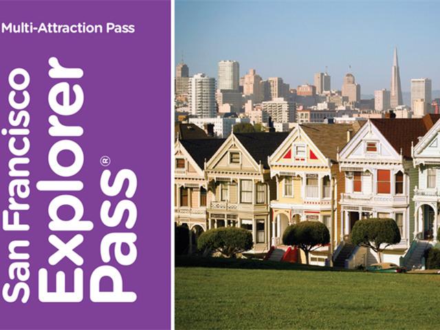 旧金山出发景点门票1日游:SF-T-5402
