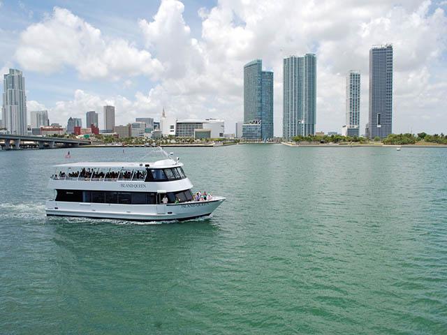 迈阿密出发游船观光1日游:MI-T-7545